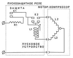 схема подключения холодильника beko